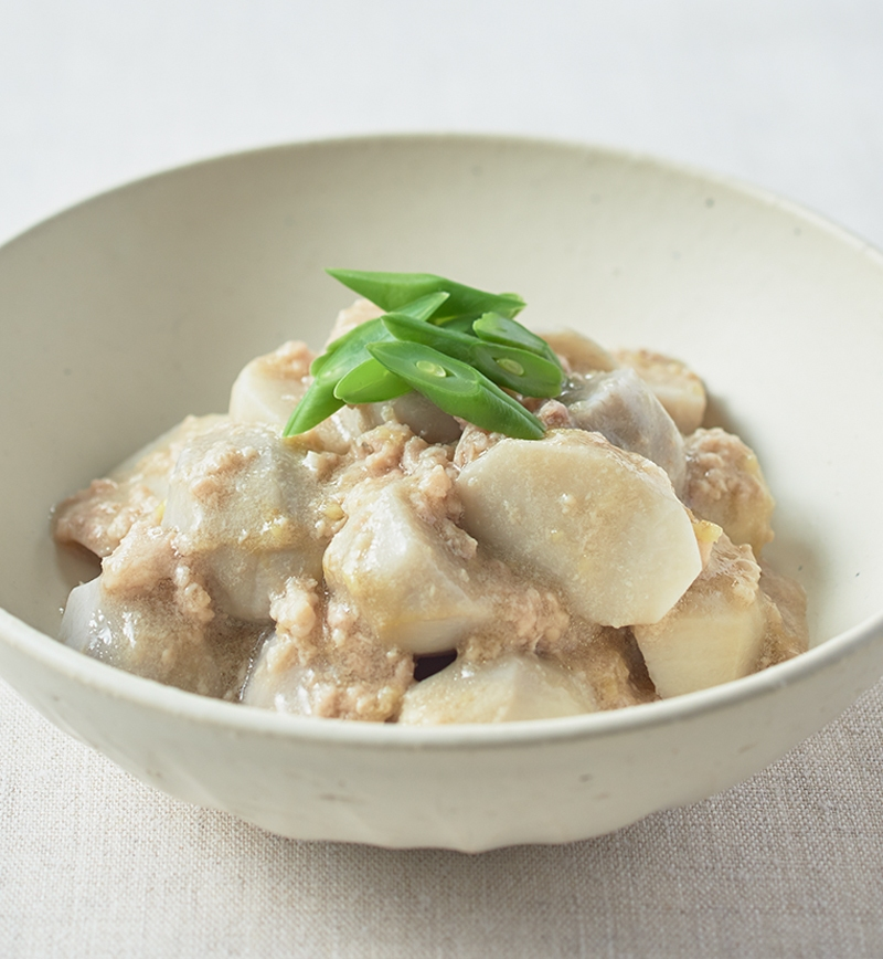 白だしでつくる 里芋の煮物 レシピ画像