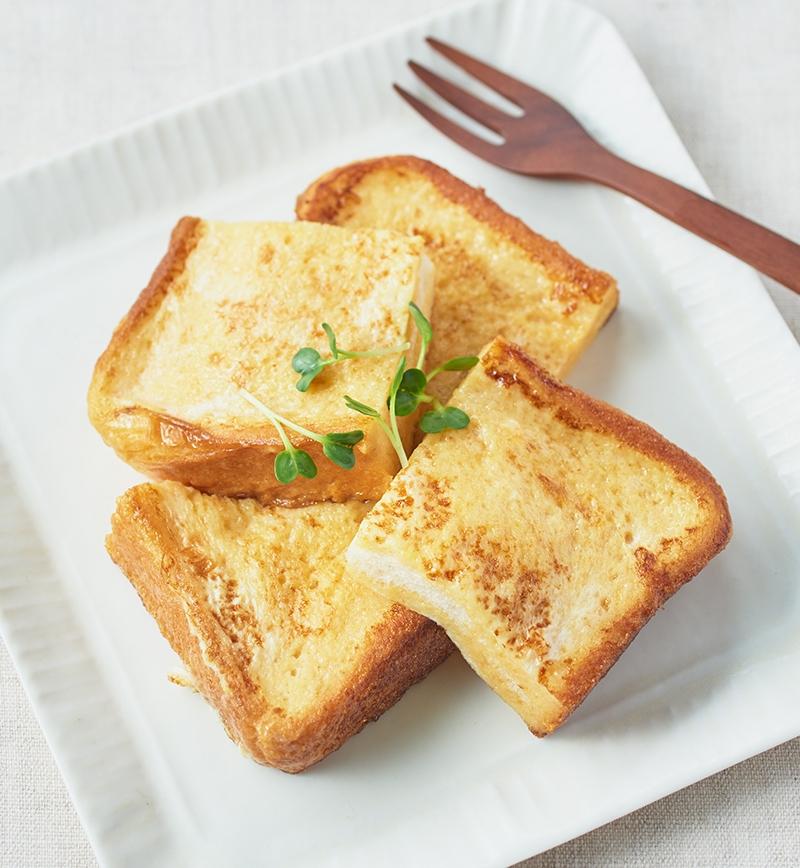 白だしでつくる 和フレンチトースト レシピ画像
