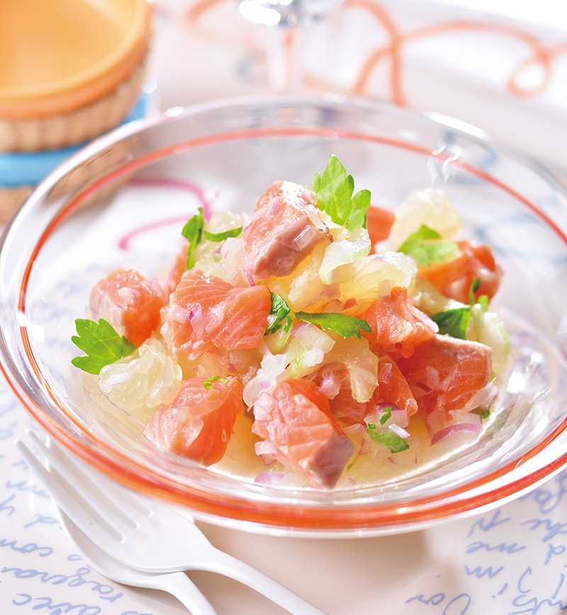 鮭のセビーチェ レシピ画像