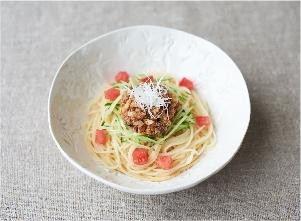 【やさしごはん】ゴロゴロ鰹節のジャージャー麺風 レシピ画像
