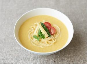 【やさしごはん】とろ~りベジポタ麺 レシピ画像