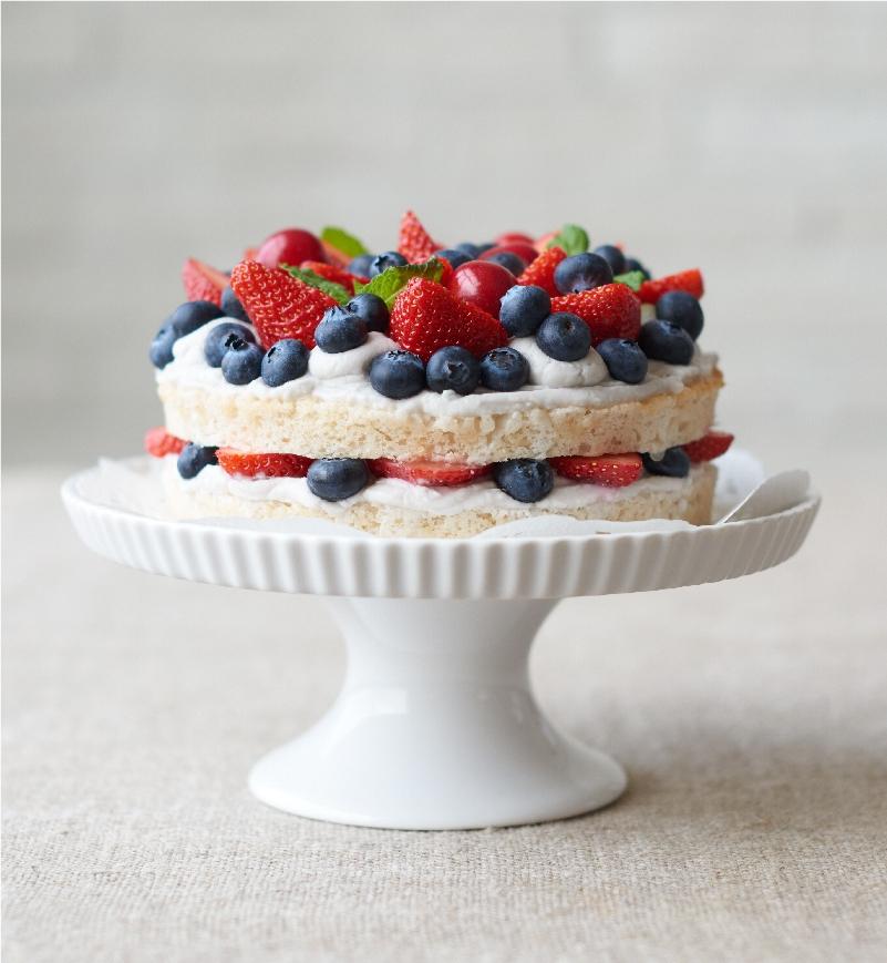 しっとりホールケーキ レシピ画像