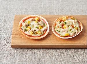 パリパリとろりんグラタンピザ レシピ画像