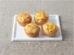 ふんわりオレンジカップケーキ レシピ画像