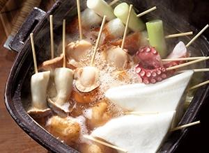 おでん風魚介串鍋 レシピ画像