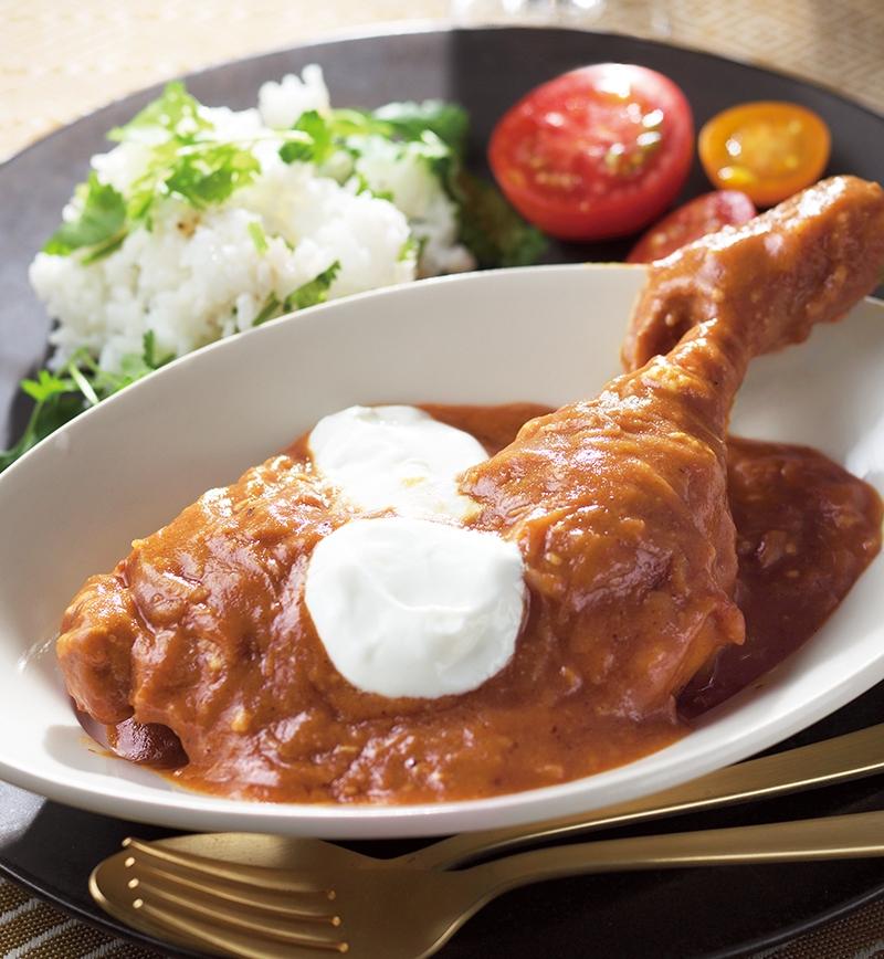 印度風チキンレッグカリー レシピ画像