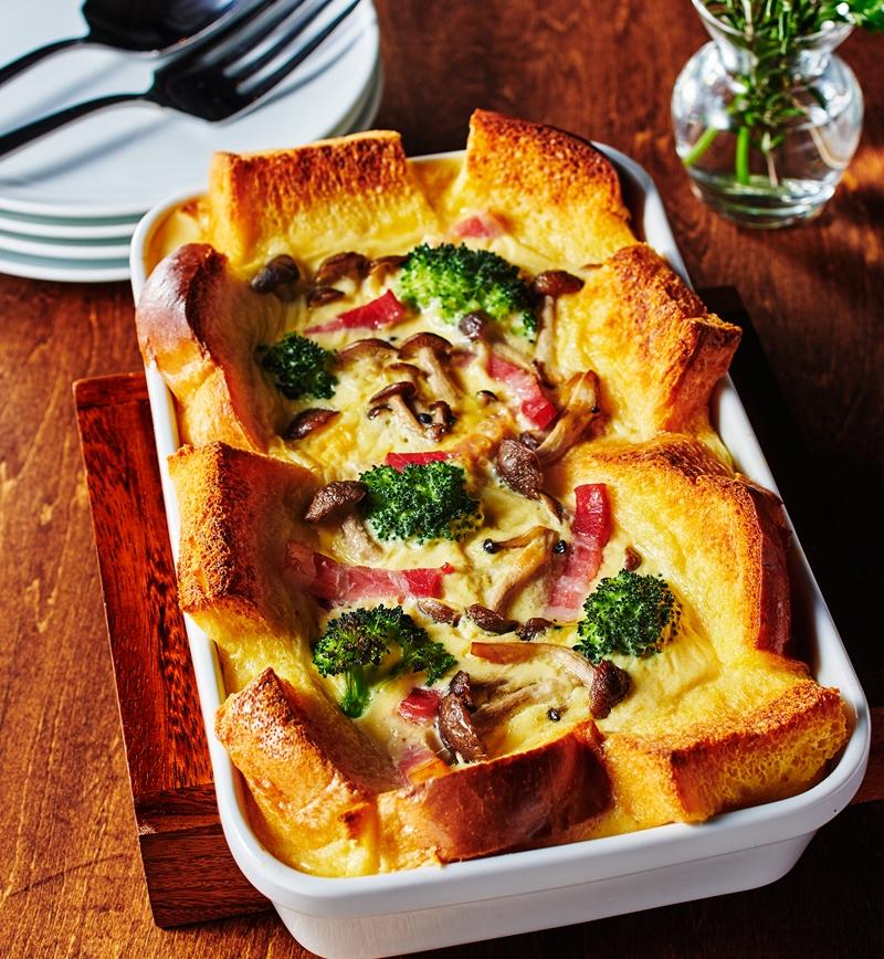 食パンdeキッシュ風グラタン レシピ画像