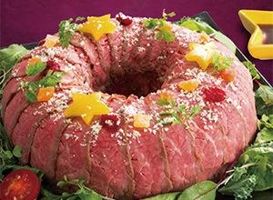 第5位 ローストビーフケーキ レシピ画像
