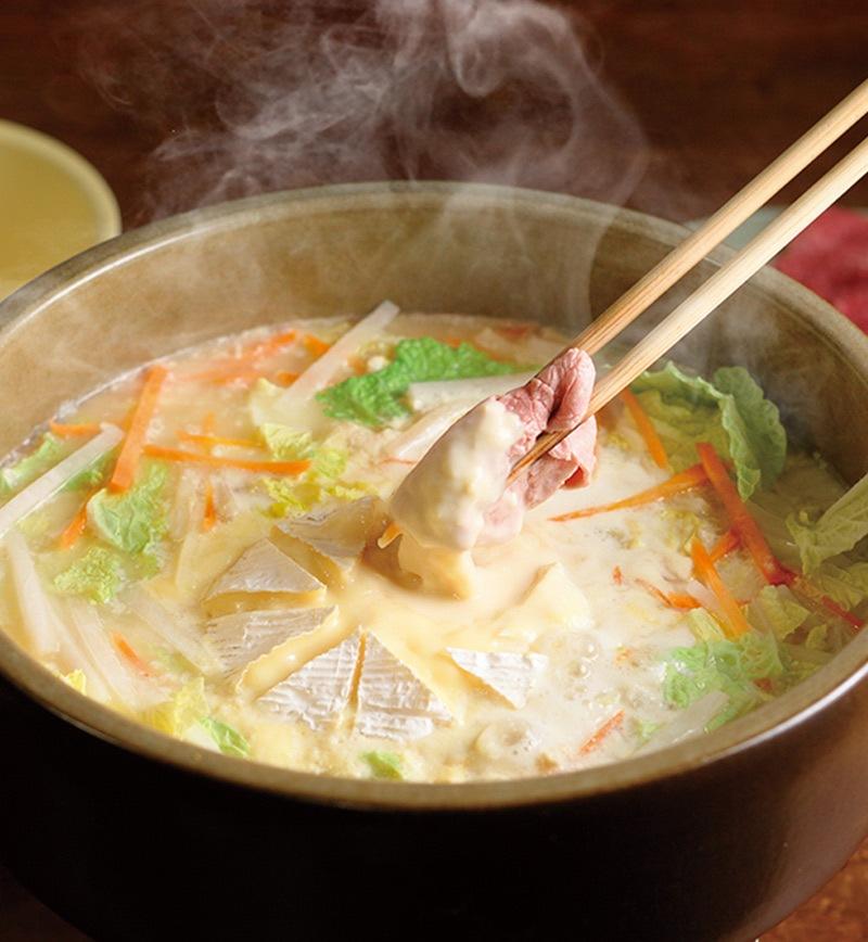 タスマニアビーフのカマンベールしゃぶしゃぶ レシピ画像