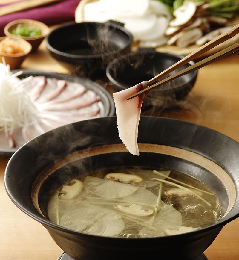 ぶりのお茶しゃぶ レシピ画像