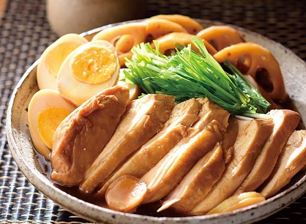 純輝鶏のやわらかこっくり煮 レシピ画像