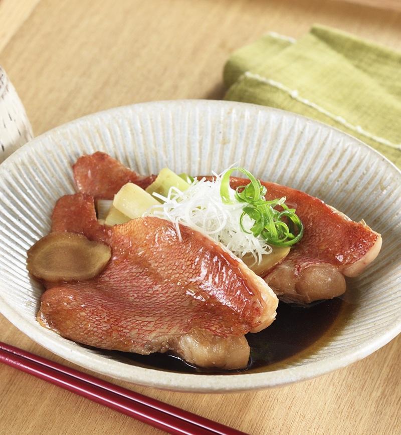 赤魚の煮付け レシピ画像