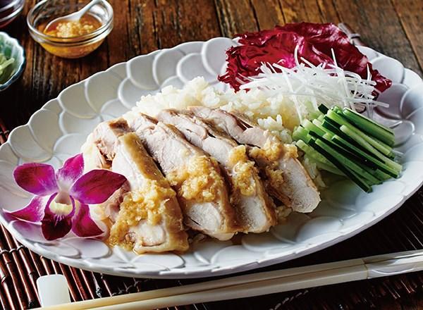 フォースープの素でカオマンガイ レシピ画像