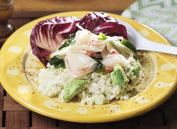 いずみ鯛ポキ風ごはん レシピ画像