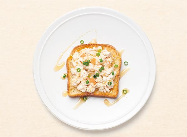 豆腐と明太子のタラモ風 レシピ画像
