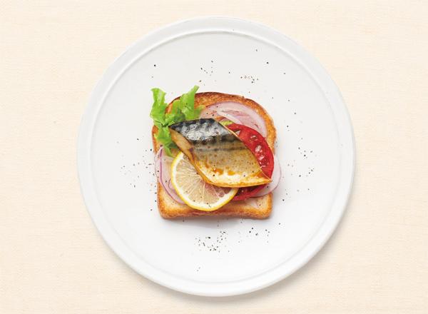 塩さばサラダ レシピ画像
