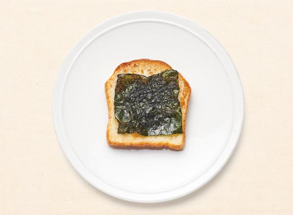 ごま油香る海苔トースト レシピ画像