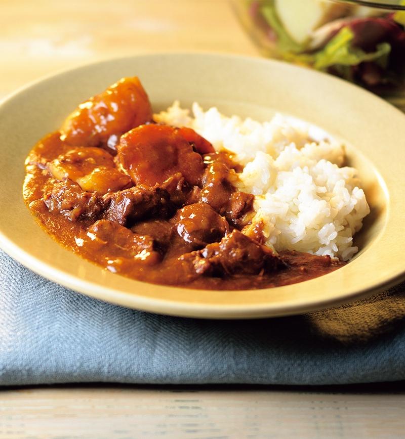 タスマニアビーフ じっくり煮込んだすねカレー レシピ画像