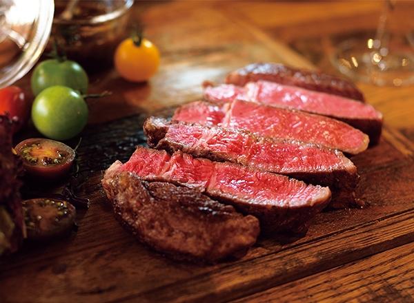 第1位 タスマニアビーフ厚切りステーキ レシピ画像