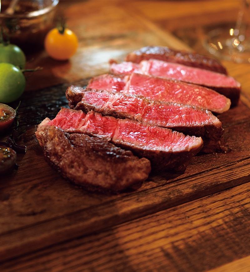 タスマニアビーフ厚切りステーキ レシピ画像