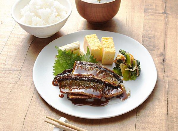 秋刀魚のメープル蒲焼き