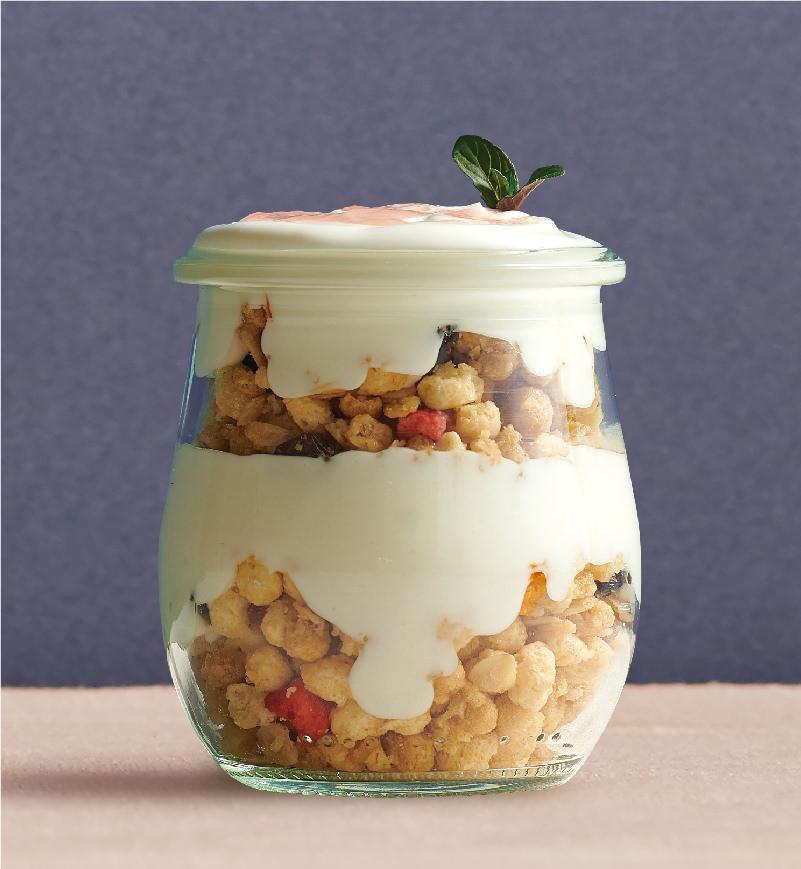 ギリシャヨーグラーノ「ザクザクチェリー」 レシピ画像