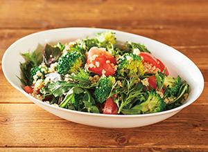 オーガニック野菜サラダ レシピ画像