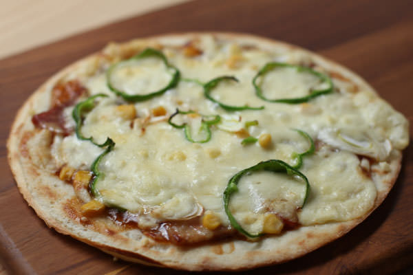 和風ピザ レシピ画像