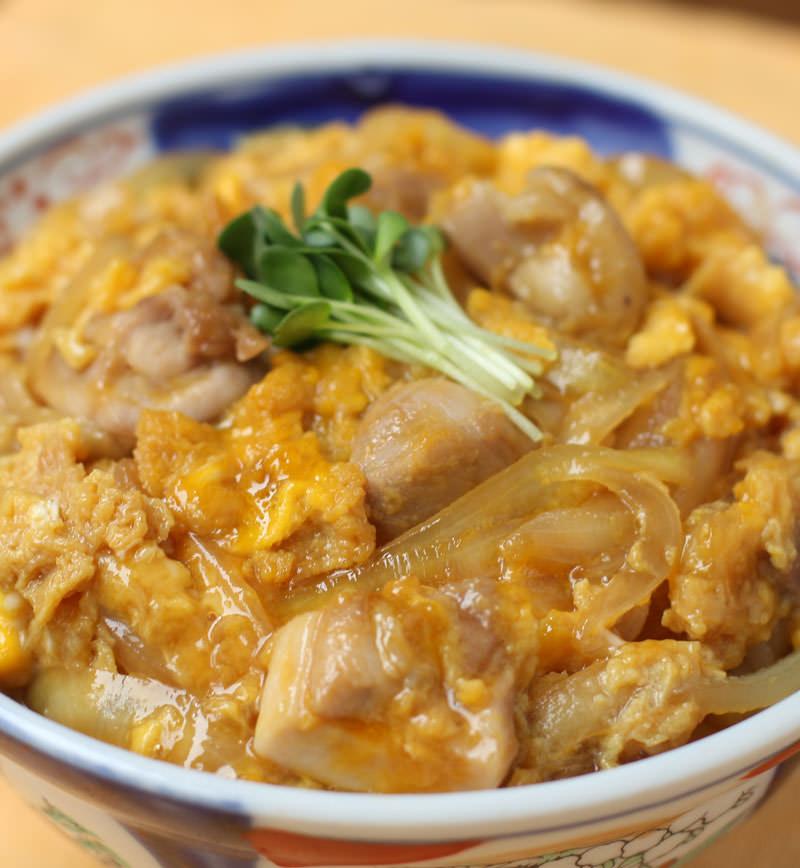 親子丼 レシピ画像