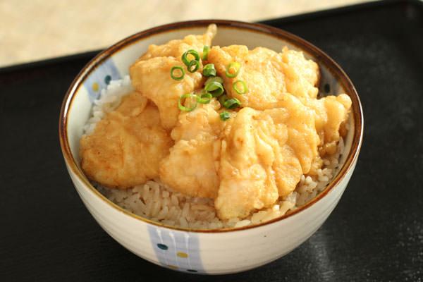 鶏天丼 レシピ画像