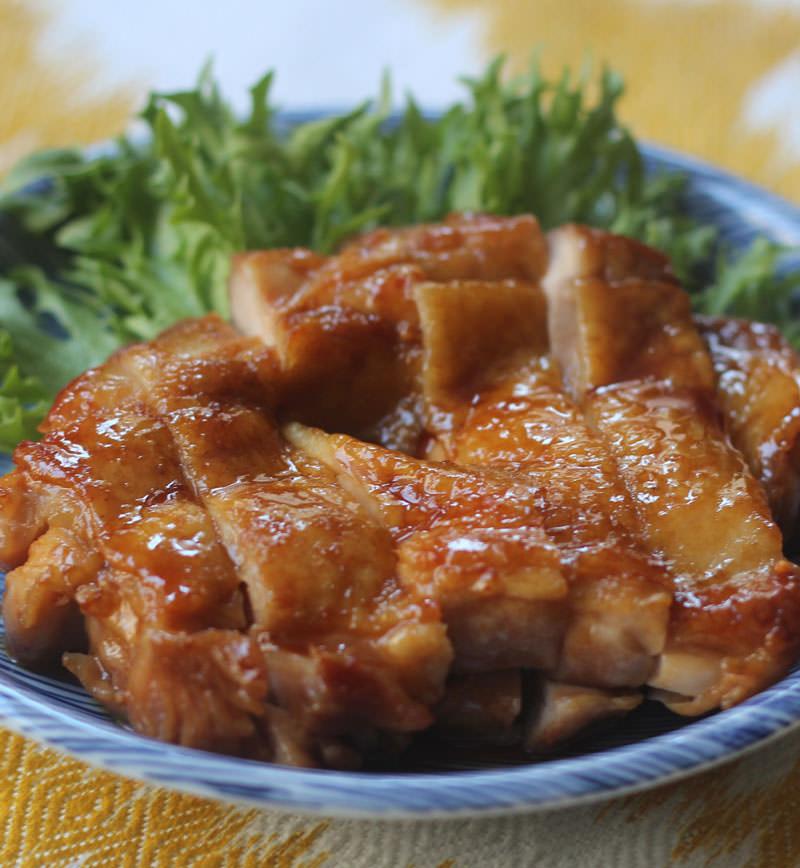 鶏もも肉の照り焼き レシピ画像