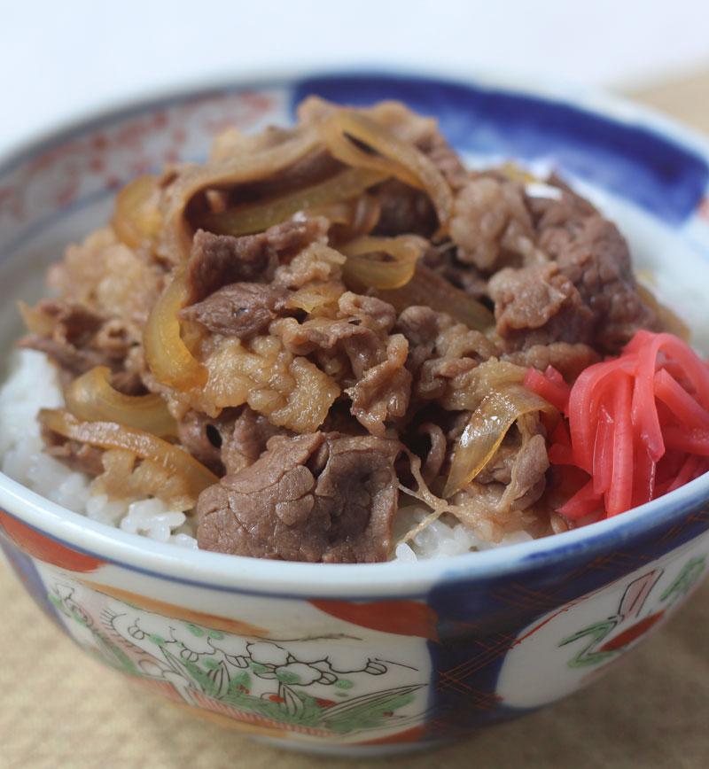 牛丼 レシピ画像
