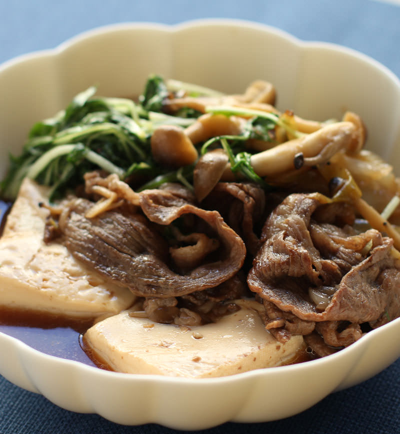 肉豆腐 レシピ画像