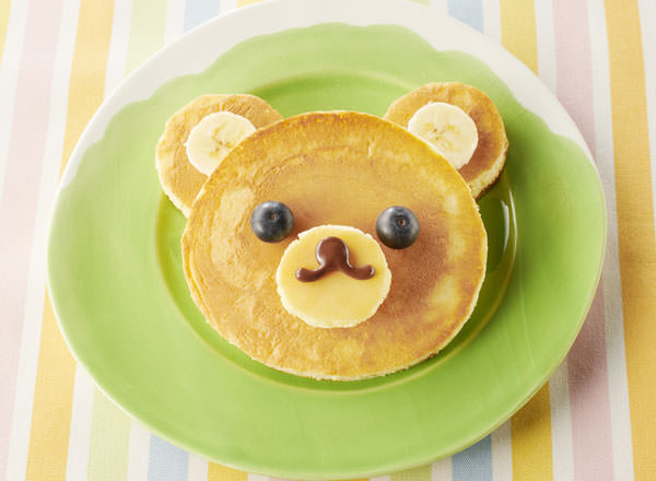 一緒に作って楽しい!アニマルホットケーキ レシピ画像