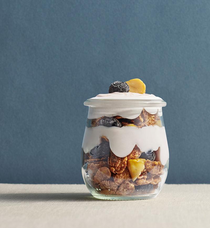 ギリシャヨーグラーノ「チョコパープルポテト」 レシピ画像