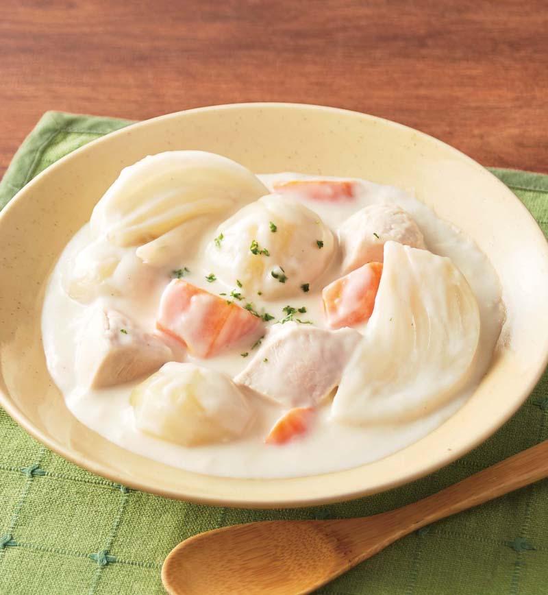 ごろっと野菜のクリームシチュー レシピ画像