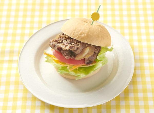 【やさしごはん】ガブッと焼肉バーガー レシピ画像