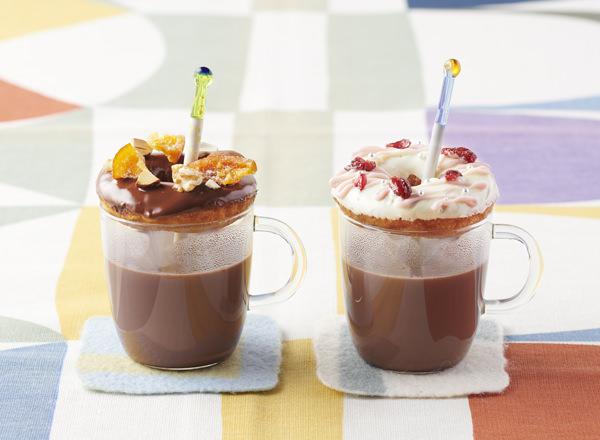 ドーナツONミルクココア レシピ画像