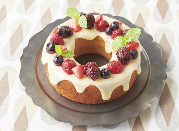 バウムクーヘンdeリースケーキ メイン画像