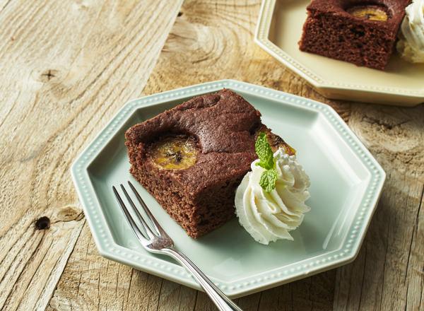 ホットケーキミックスでチョコブラウニー レシピ画像