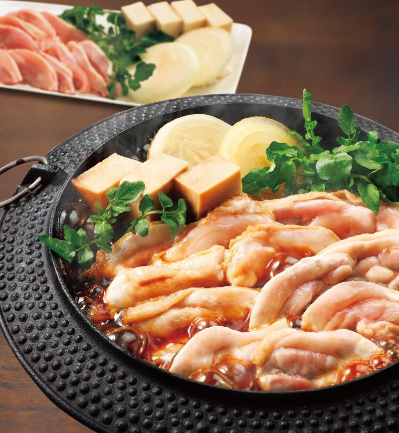 純輝鶏の鶏すき レシピ画像