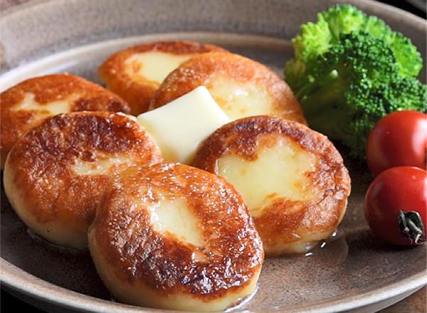 第1位 ジャガイモで作る簡単レシピ♪いももち レシピ画像