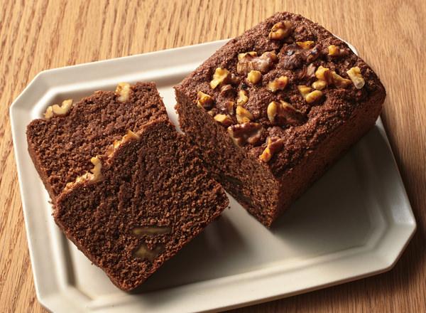 第2位 おからパウダー「チョコパウンド」 レシピ画像