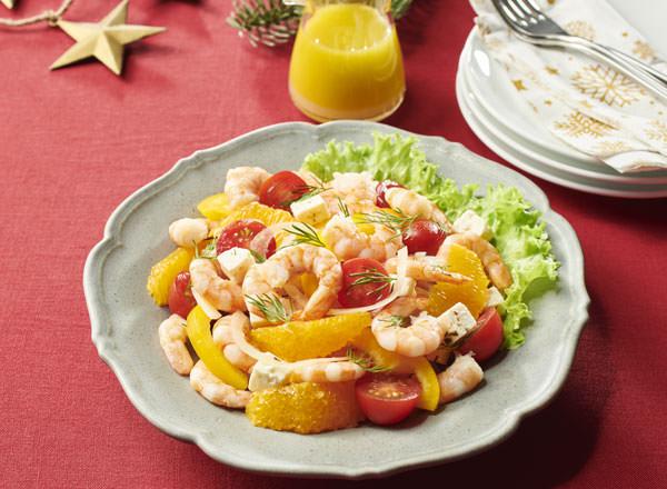 カラフルシュリンプサラダ レシピ画像