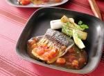 秋鯖のスパイス焼き トマトバジルソース レシピ画像