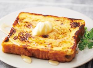 オレンジジュースフレンチトースト レシピ画像