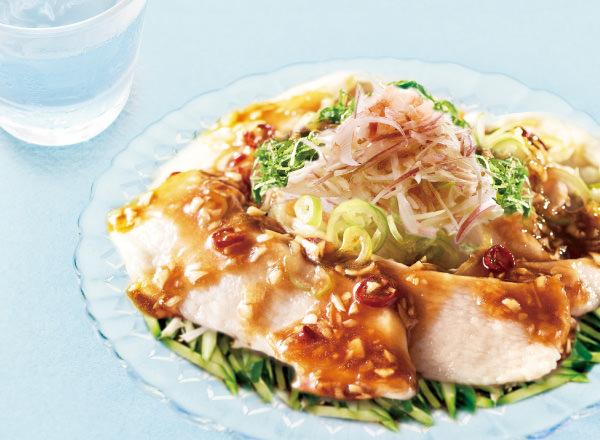 第3位 純輝鶏の水晶鶏 レシピ画像