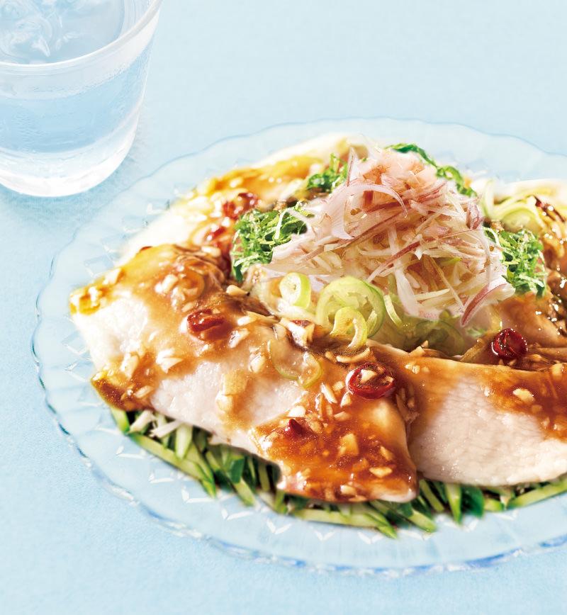 純輝鶏の水晶鶏 レシピ画像