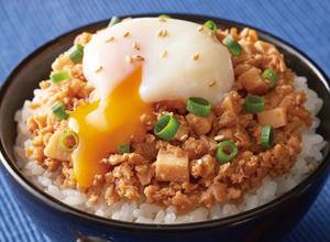 大豆ミンチの甘辛そぼろ レシピ画像