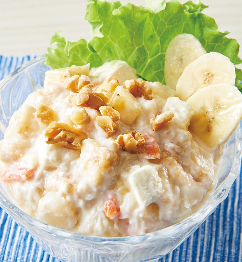 バナナポテトサラダ レシピ画像